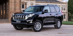 Toyota Land Cruiser Prado. Минус стакан