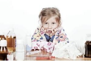 Помощь при ларингите у детей