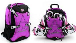 Сумки и рюкзаки для роликов: аксессуары для удобной транспортировки коньков